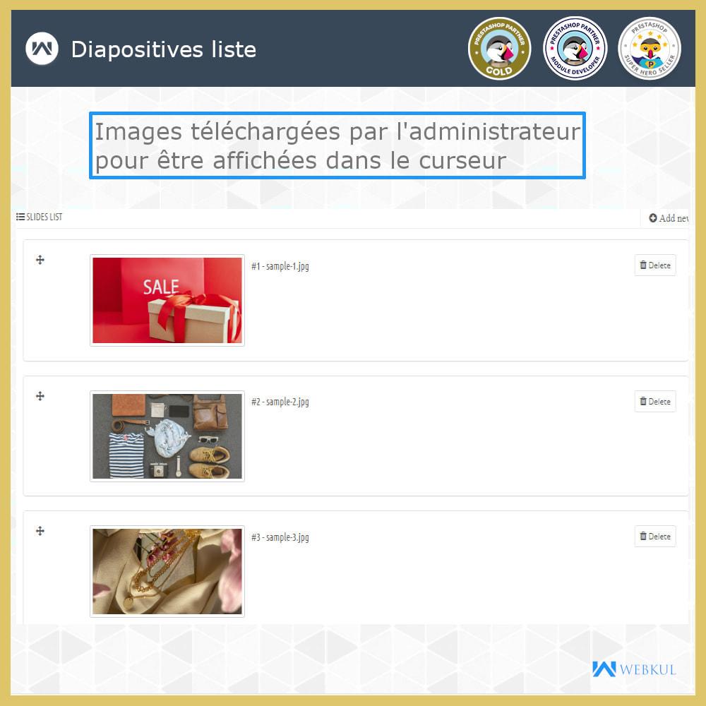 module - Sliders & Galeries - Curseur d'image   Paged'accueil diaporama - 4