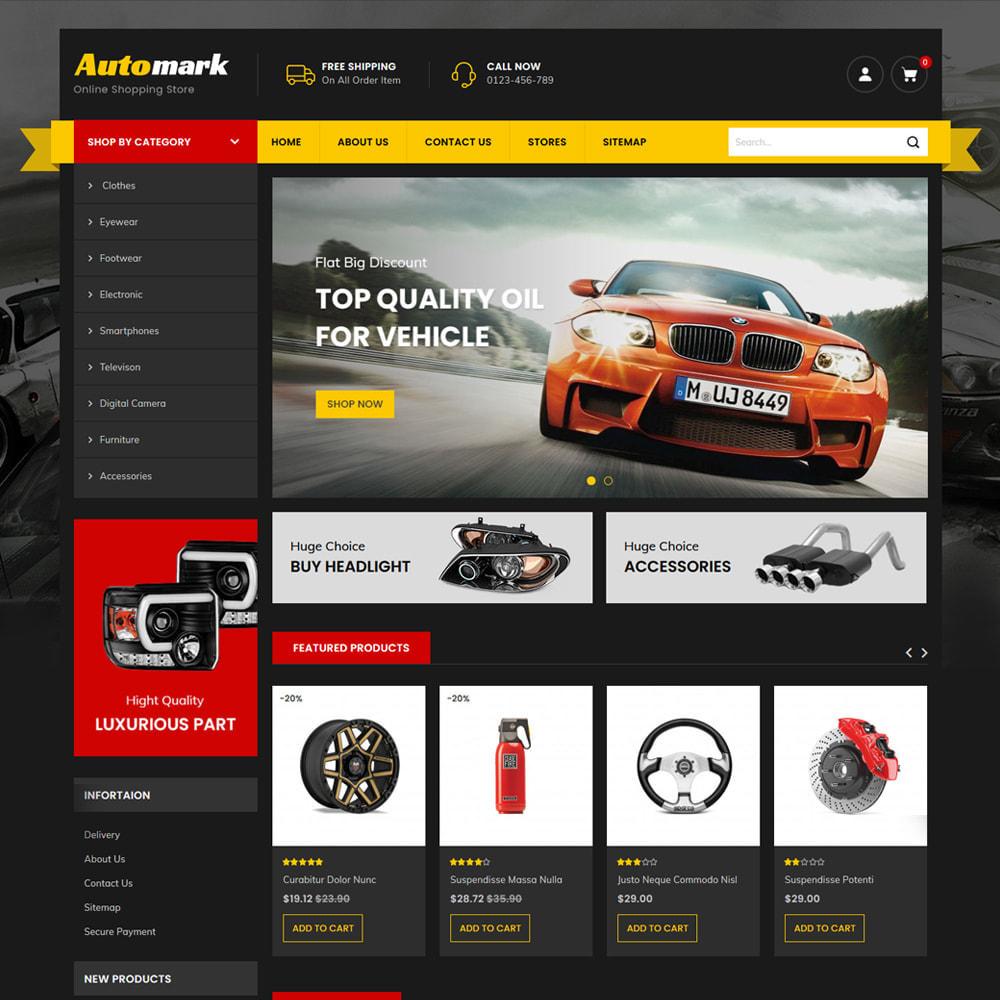 theme - Auto's & Motoren - Automark - Car Spare Parts & Tools Store - 2
