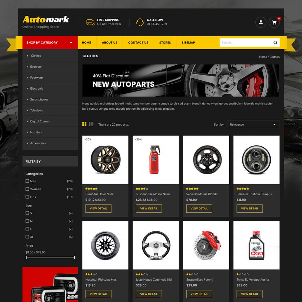 theme - Auto's & Motoren - Automark - Car Spare Parts & Tools Store - 3