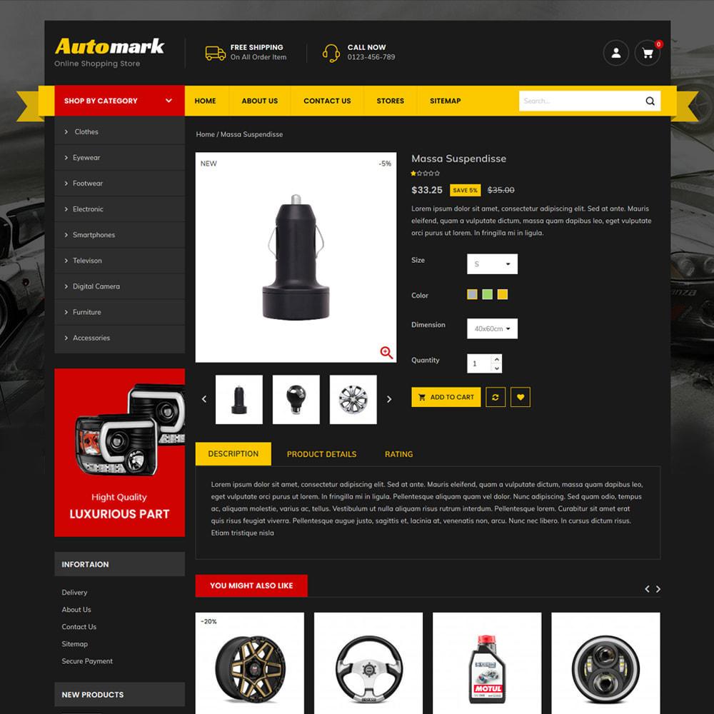 theme - Auto's & Motoren - Automark - Car Spare Parts & Tools Store - 4