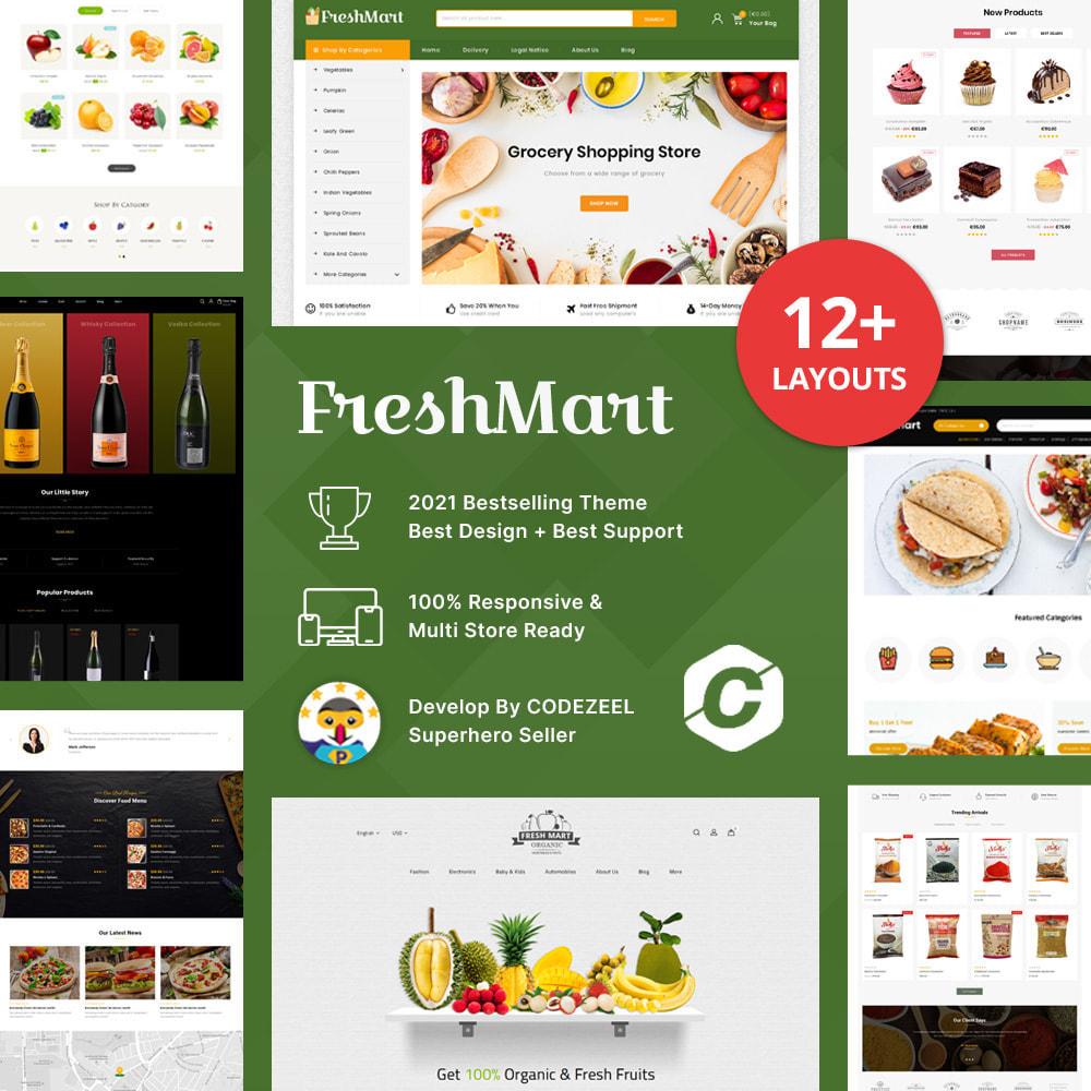 theme - Gastronomía y Restauración - Farm Fresh - Super Market Store - 1