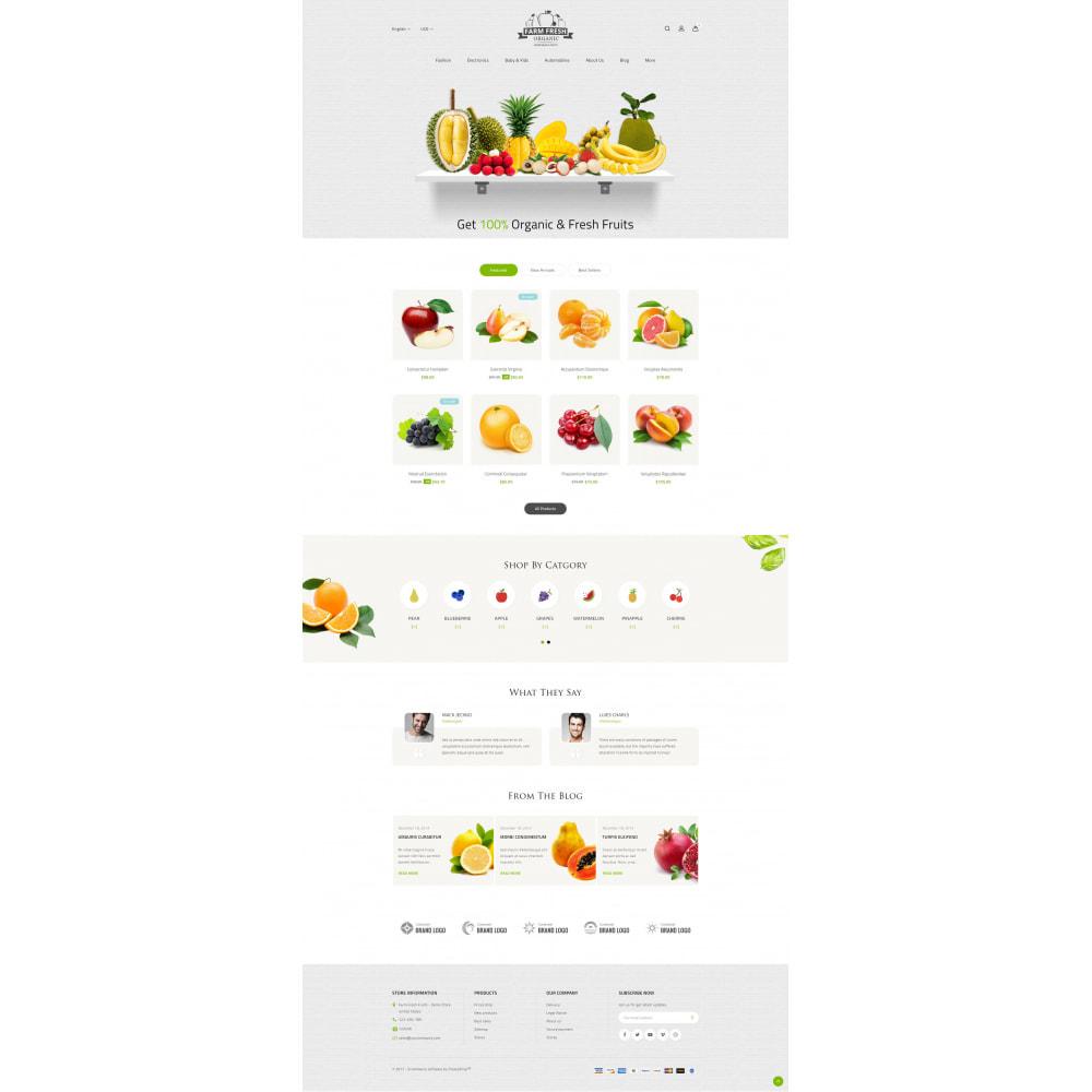 theme - Gastronomía y Restauración - Farm Fresh - Super Market Store - 2