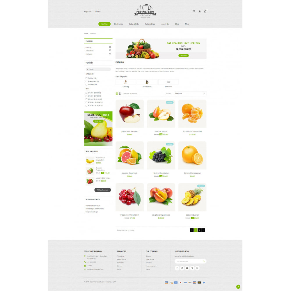 theme - Gastronomía y Restauración - Farm Fresh - Super Market Store - 3