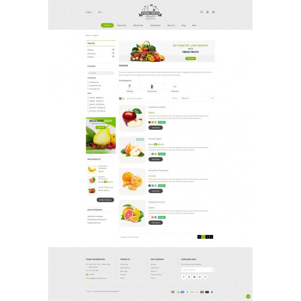 theme - Gastronomía y Restauración - Farm Fresh - Super Market Store - 4