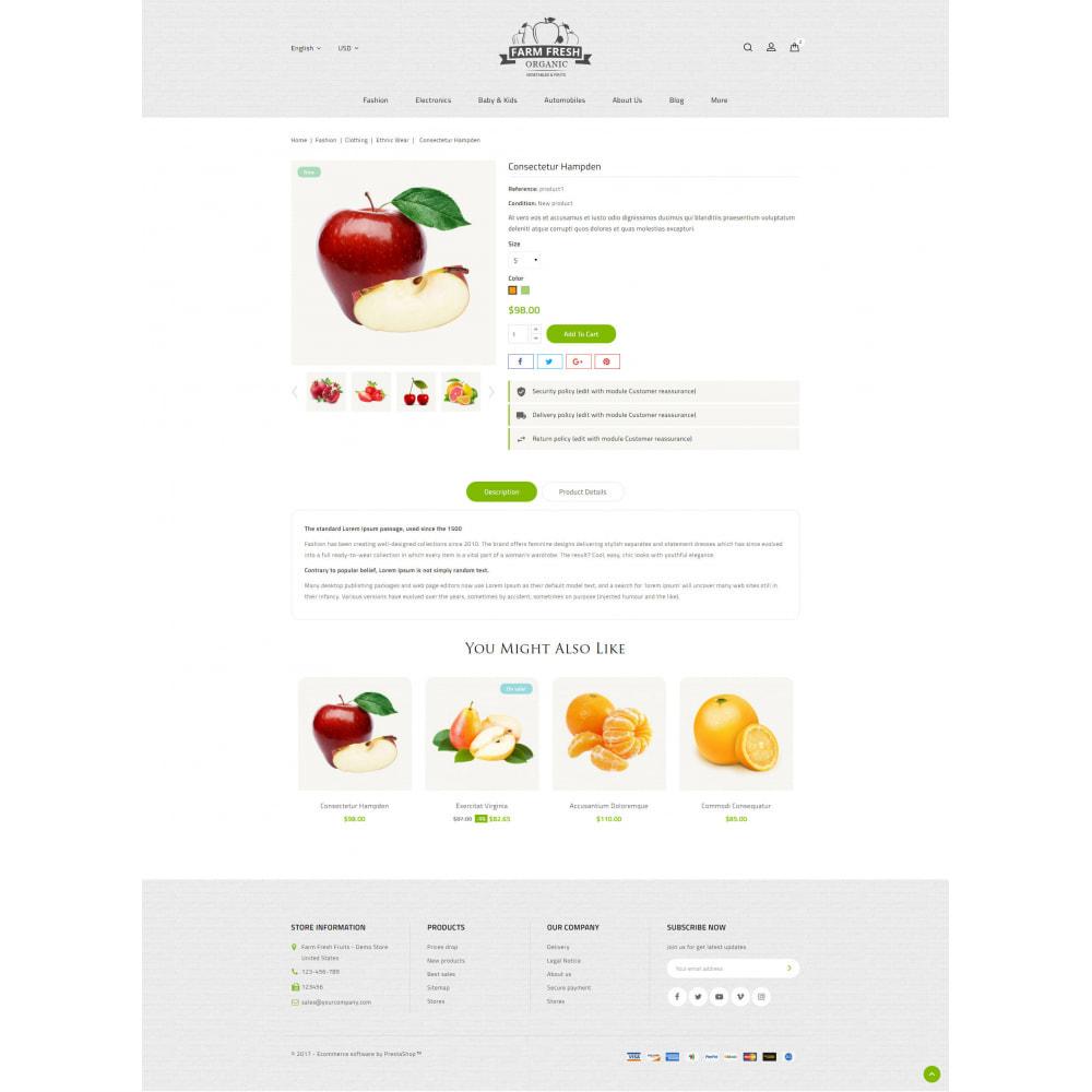 theme - Gastronomía y Restauración - Farm Fresh - Super Market Store - 5