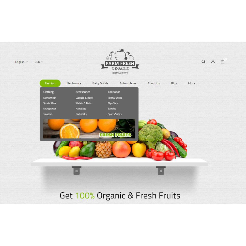 theme - Gastronomía y Restauración - Farm Fresh - Super Market Store - 6