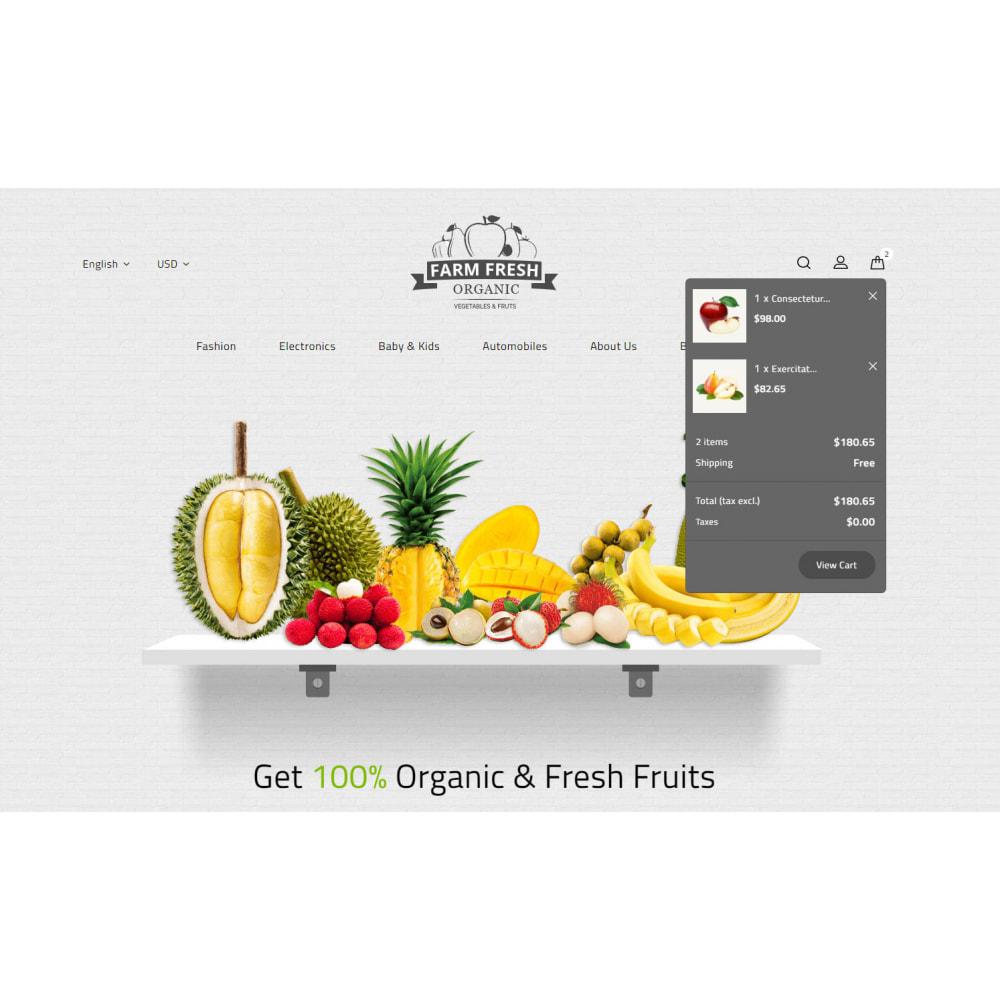 theme - Gastronomía y Restauración - Farm Fresh - Super Market Store - 8