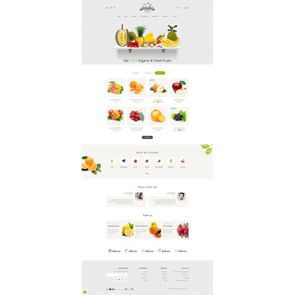 theme - Gastronomía y Restauración - Farm Fresh - Super Market Store - 9