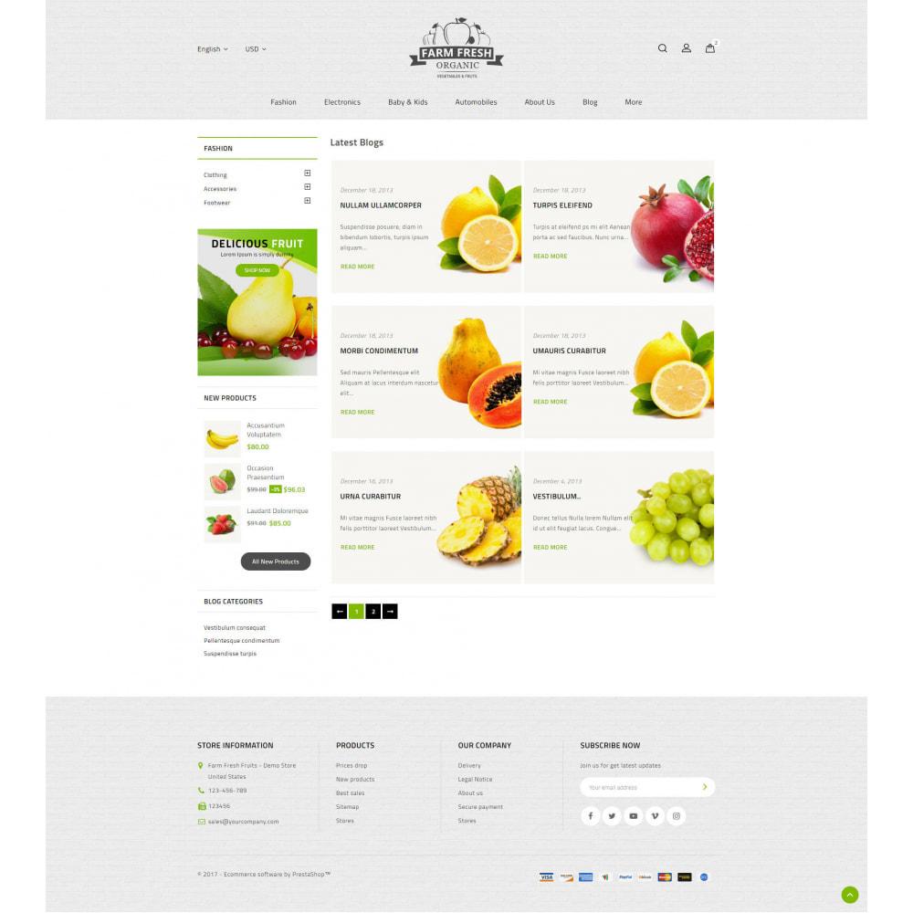 theme - Gastronomía y Restauración - Farm Fresh - Super Market Store - 10
