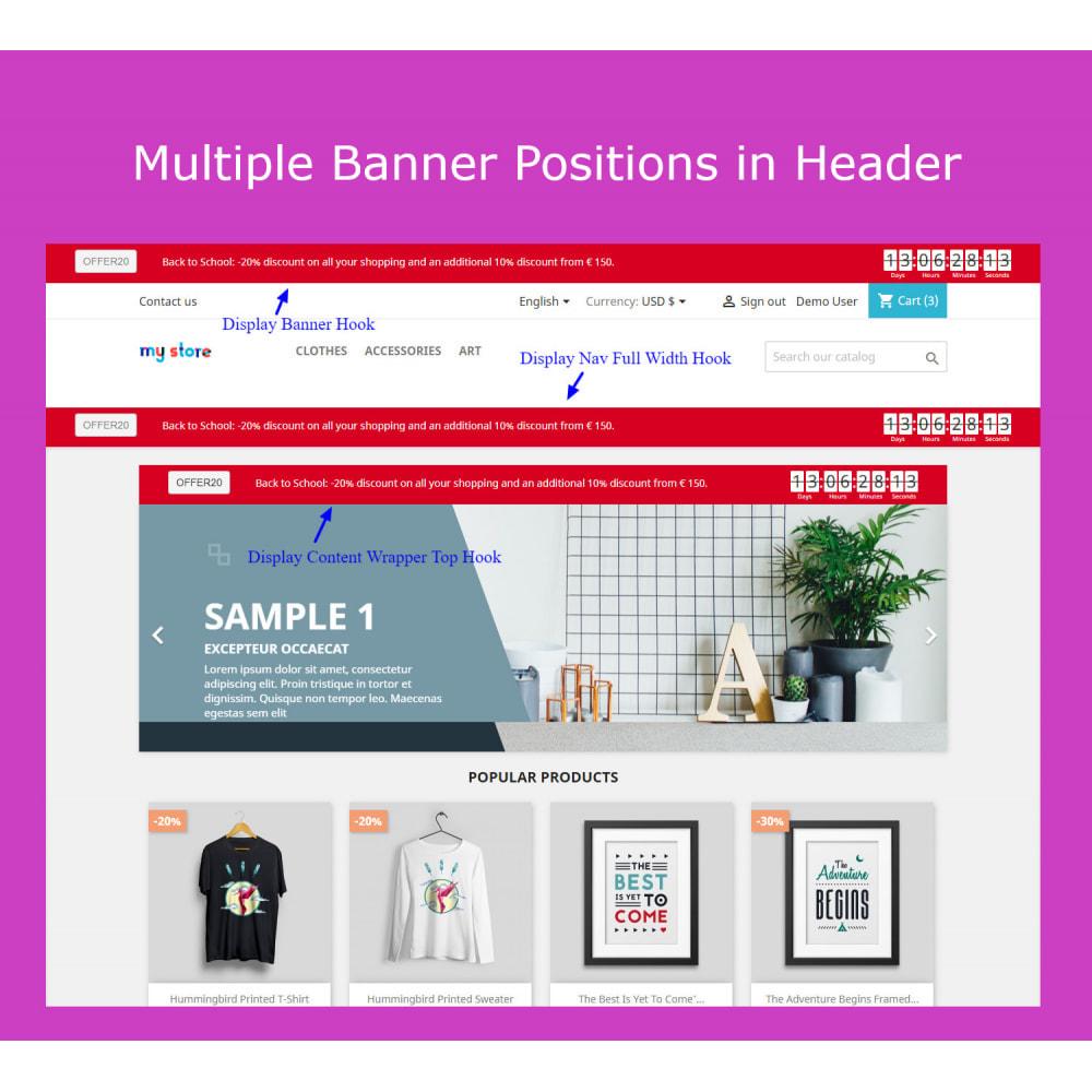 module - Sliders & Galleries - Advanced Ticker Notification Banner Slider - 1