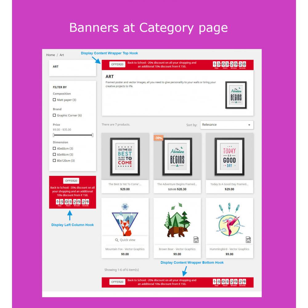 module - Sliders & Galleries - Advanced Ticker Notification Banner Slider - 4