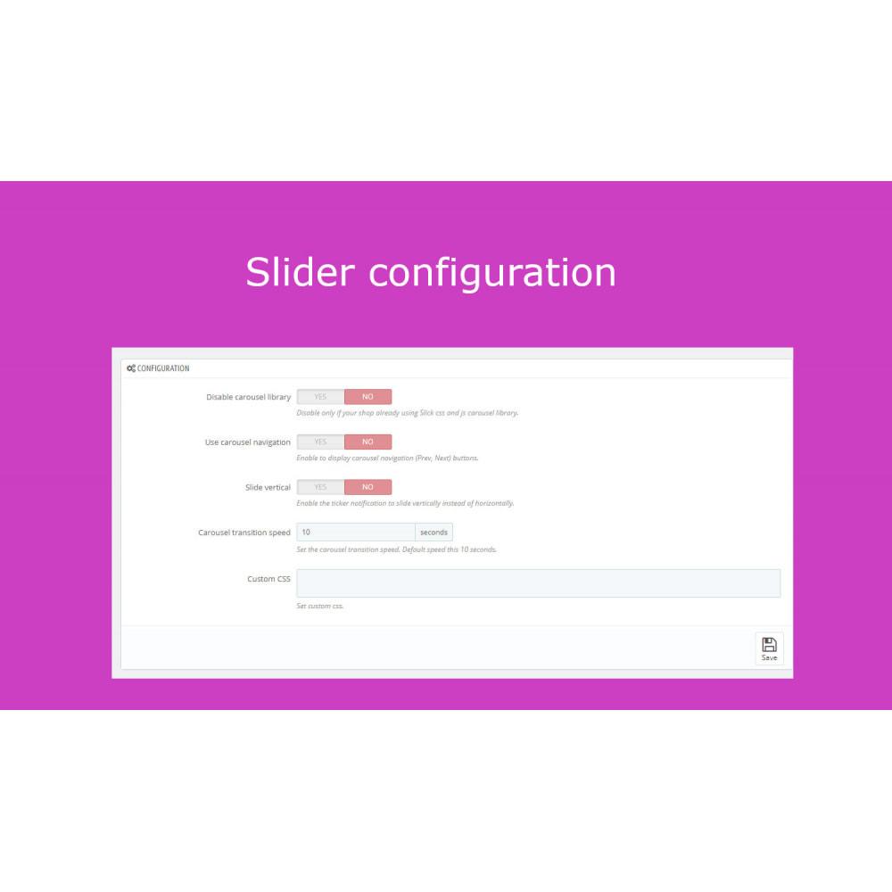 module - Sliders & Galleries - Advanced Ticker Notification Banner Slider - 11