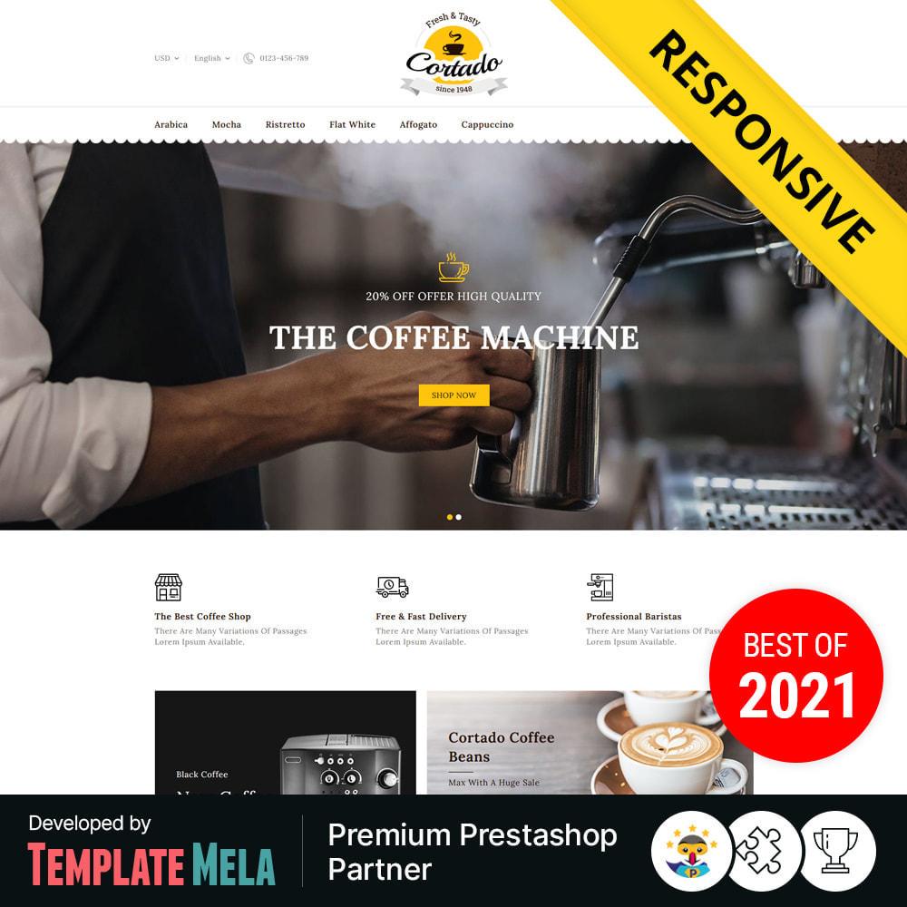 theme - Gastronomía y Restauración - Cortado Coffee & Chocolate Store - 1