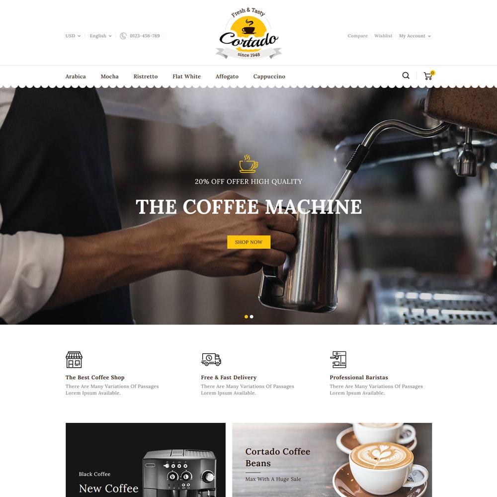 theme - Gastronomía y Restauración - Cortado Coffee & Chocolate Store - 2