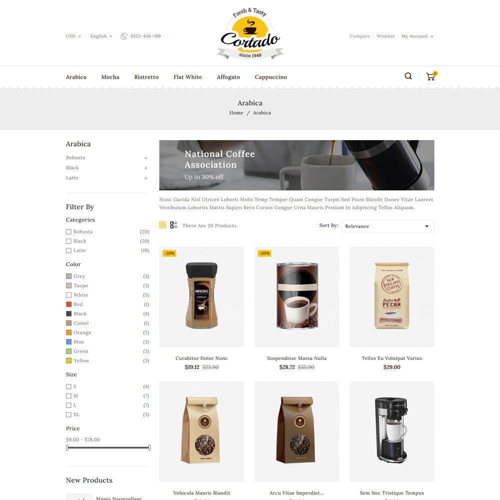 theme - Gastronomía y Restauración - Cortado Coffee & Chocolate Store - 3