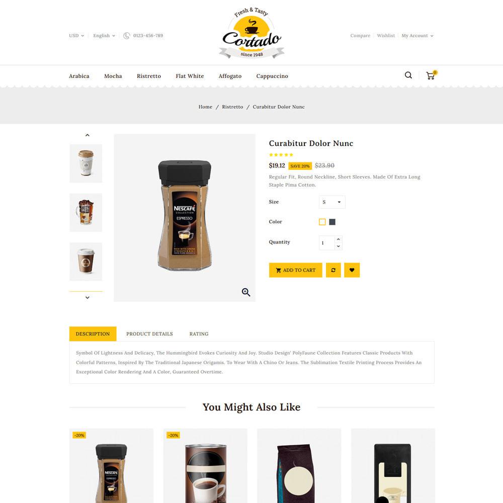 theme - Gastronomía y Restauración - Cortado Coffee & Chocolate Store - 4