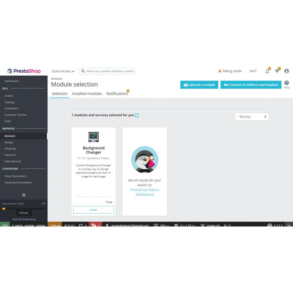 module - Page Customization - Background Changer - Ultimate - 1