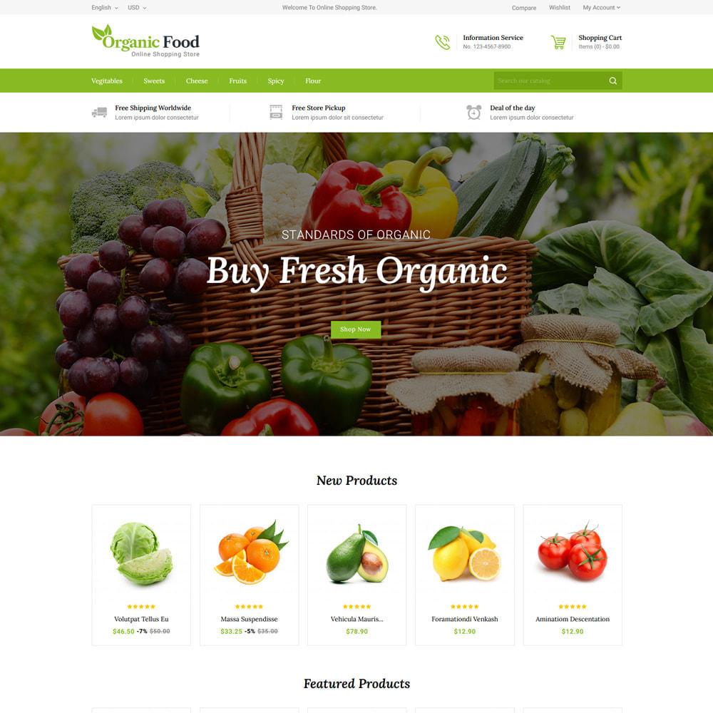 theme - Eten & Restaurant - Organic Food & Restaurant Store - 2