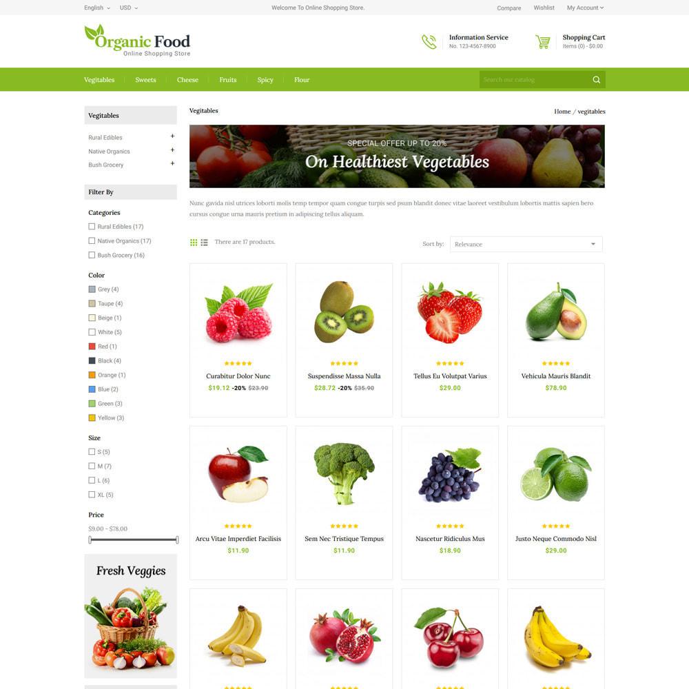 theme - Eten & Restaurant - Organic Food & Restaurant Store - 3