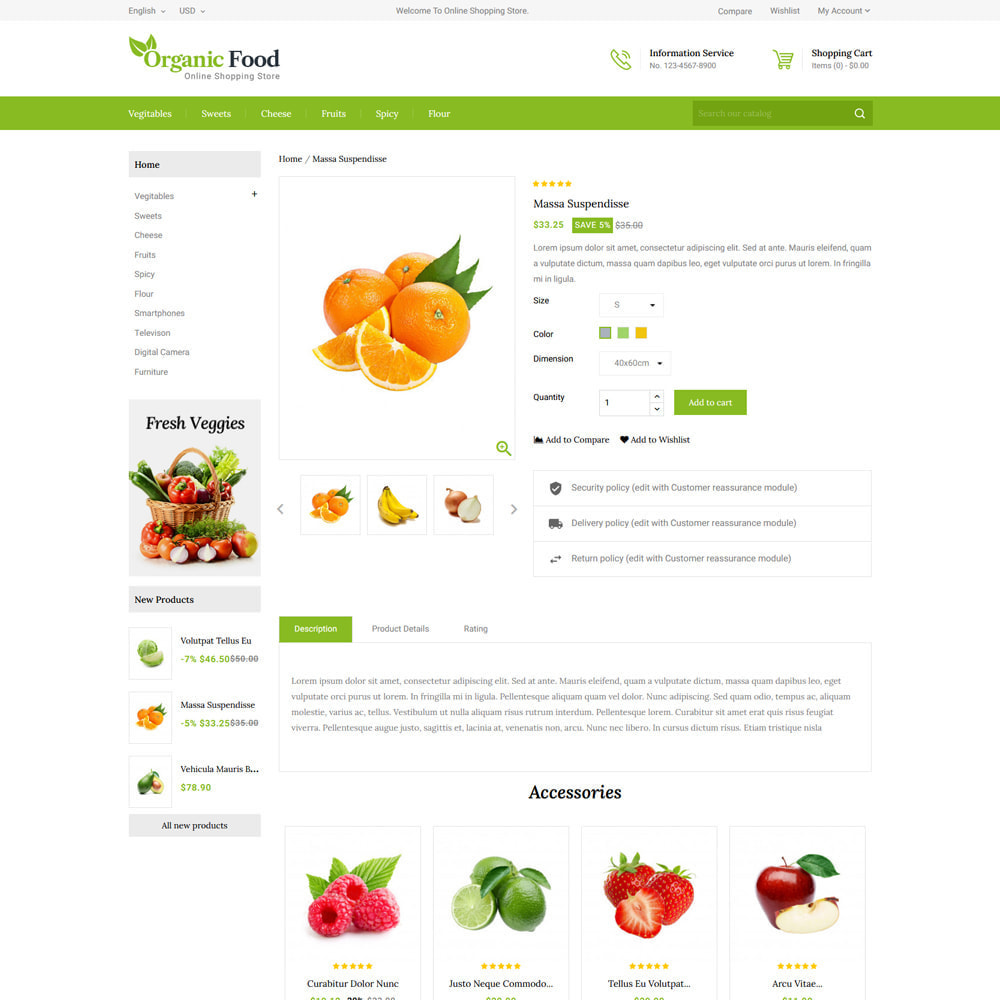 theme - Eten & Restaurant - Organic Food & Restaurant Store - 4