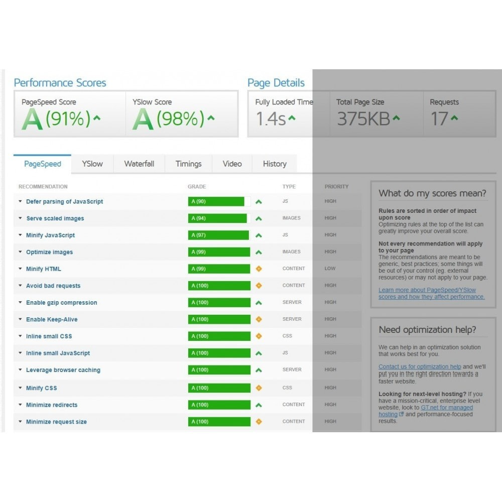 module - Website Performance - Cache Manager - Page Speed Optimization - 4
