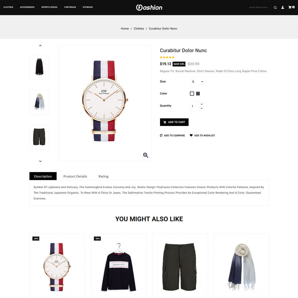 theme - Fashion & Shoes - Fashion Store - 4