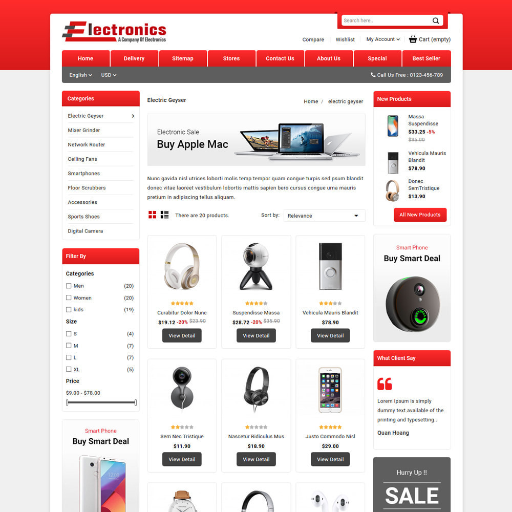 theme - Electronics & Computers - Electronics - Mega Store - 3