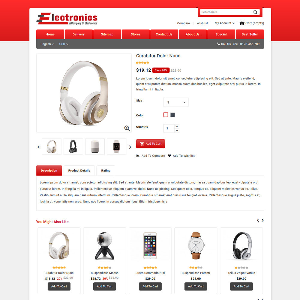 theme - Electronics & Computers - Electronics - Mega Store - 4