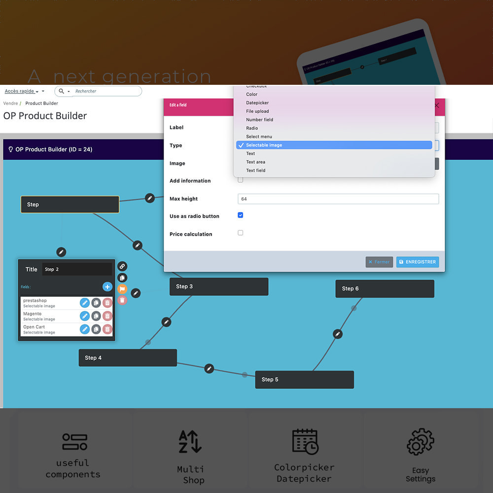module - Combinations & Product Customization - Product Builder next generation - 4