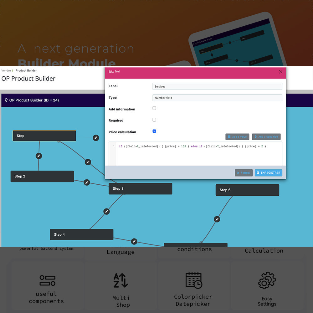 module - Combinations & Product Customization - Product Step Conditionnel Combinaison - 5