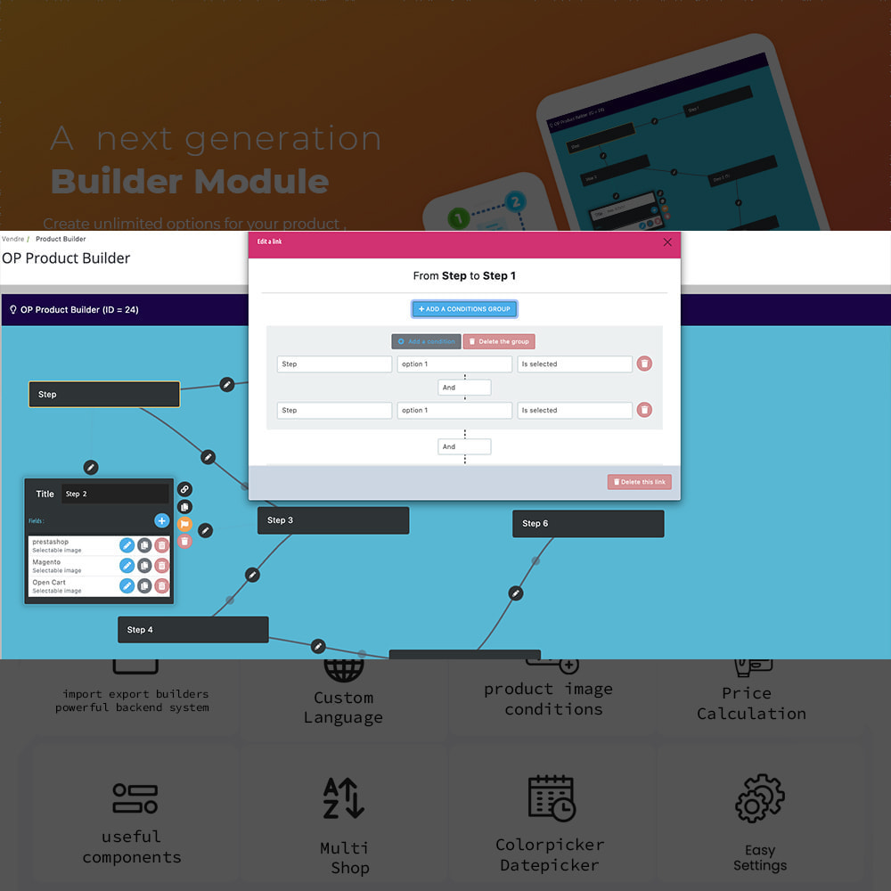 module - Combinations & Product Customization - Product Step Conditionnel Combinaison - 6
