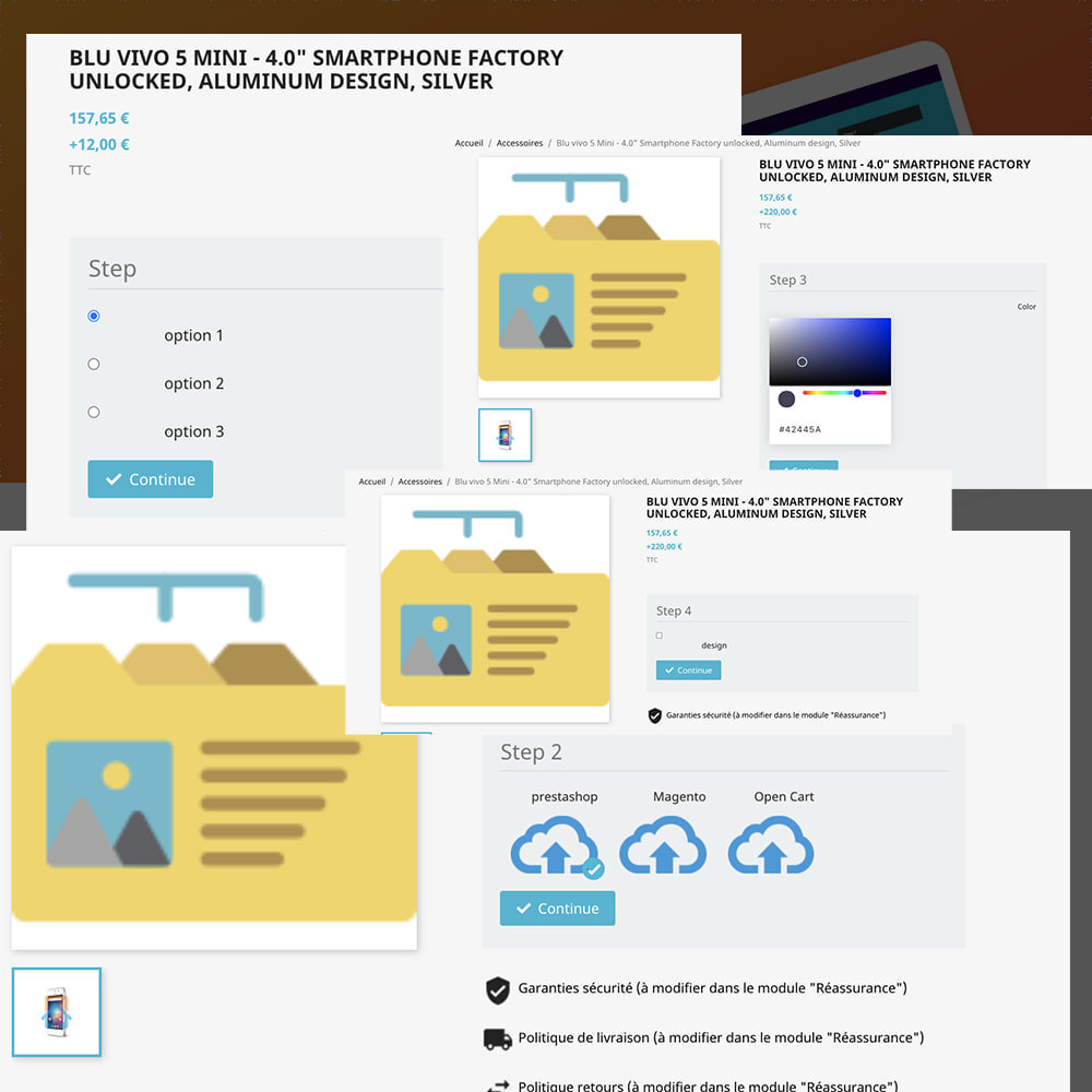 module - Combinations & Product Customization - Product Builder next generation - 8