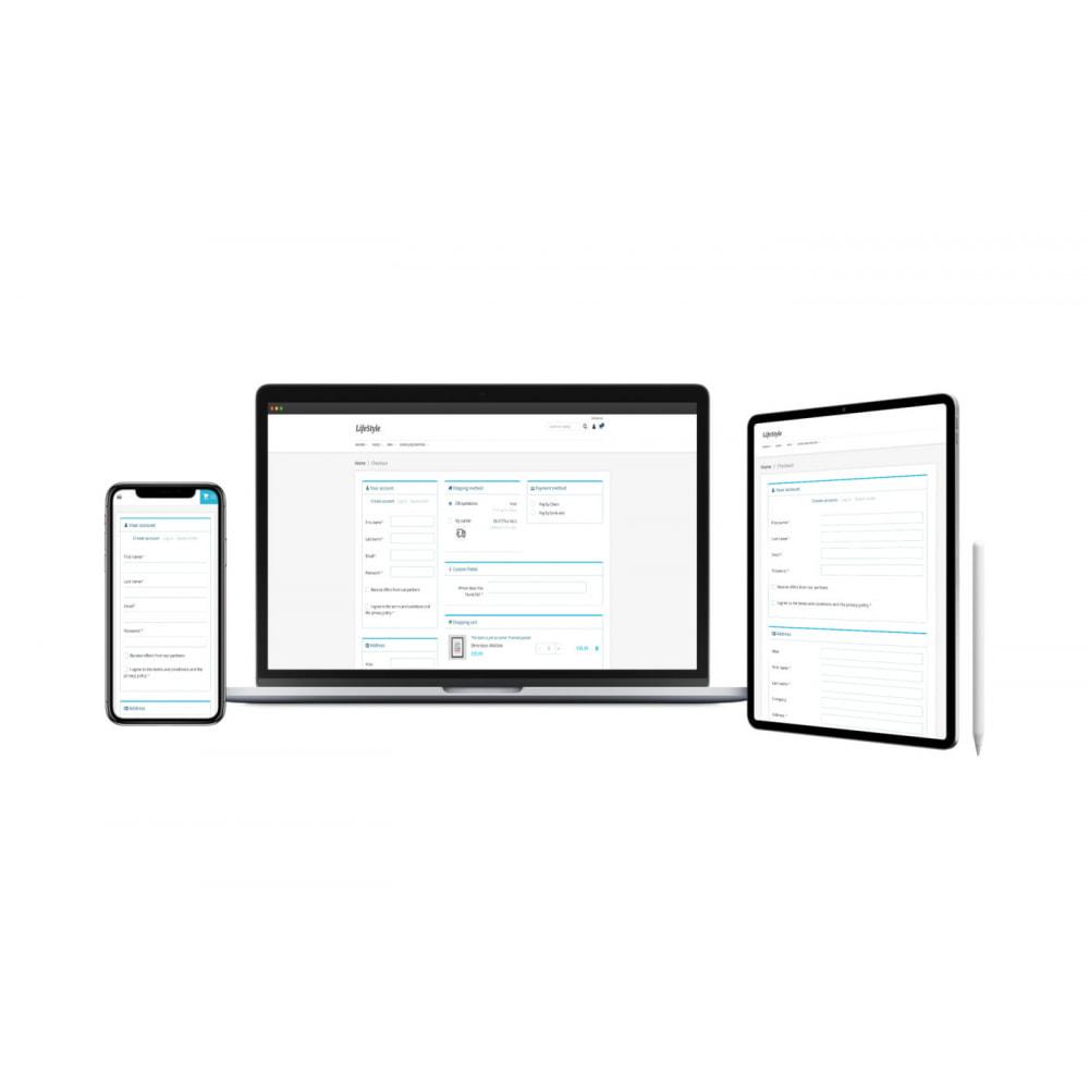 module - Express Checkout Process - One Page Checkout Process - 3