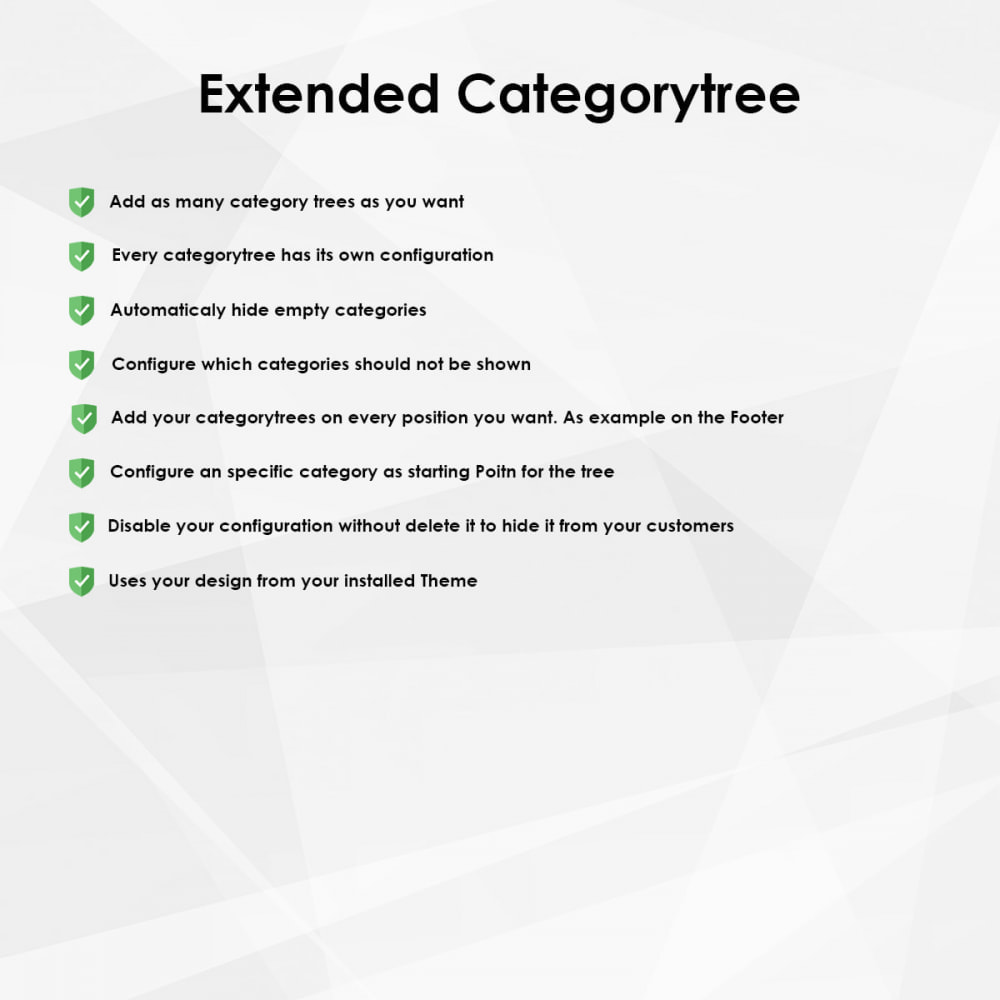 module - Brands & Manufacturers - Extended category tree - 1