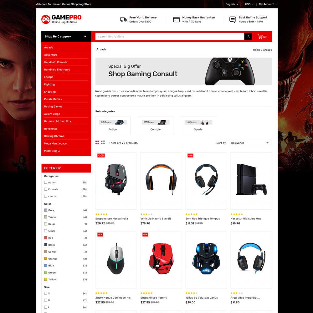 theme - Electrónica e High Tech - Gamepro - Game and Electronics Stores - 3