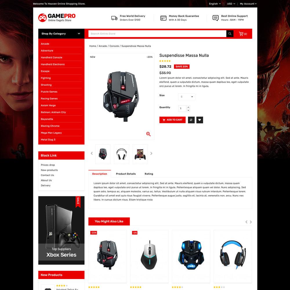 theme - Electrónica e High Tech - Gamepro - Game and Electronics Stores - 4