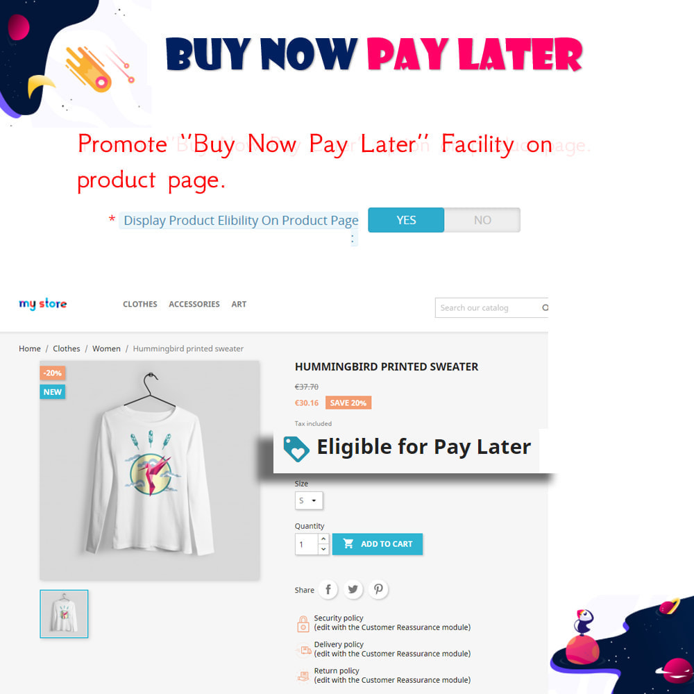 module - Andere Zahlungsmethoden - Buy Now Pay Later - Postpaid - 6
