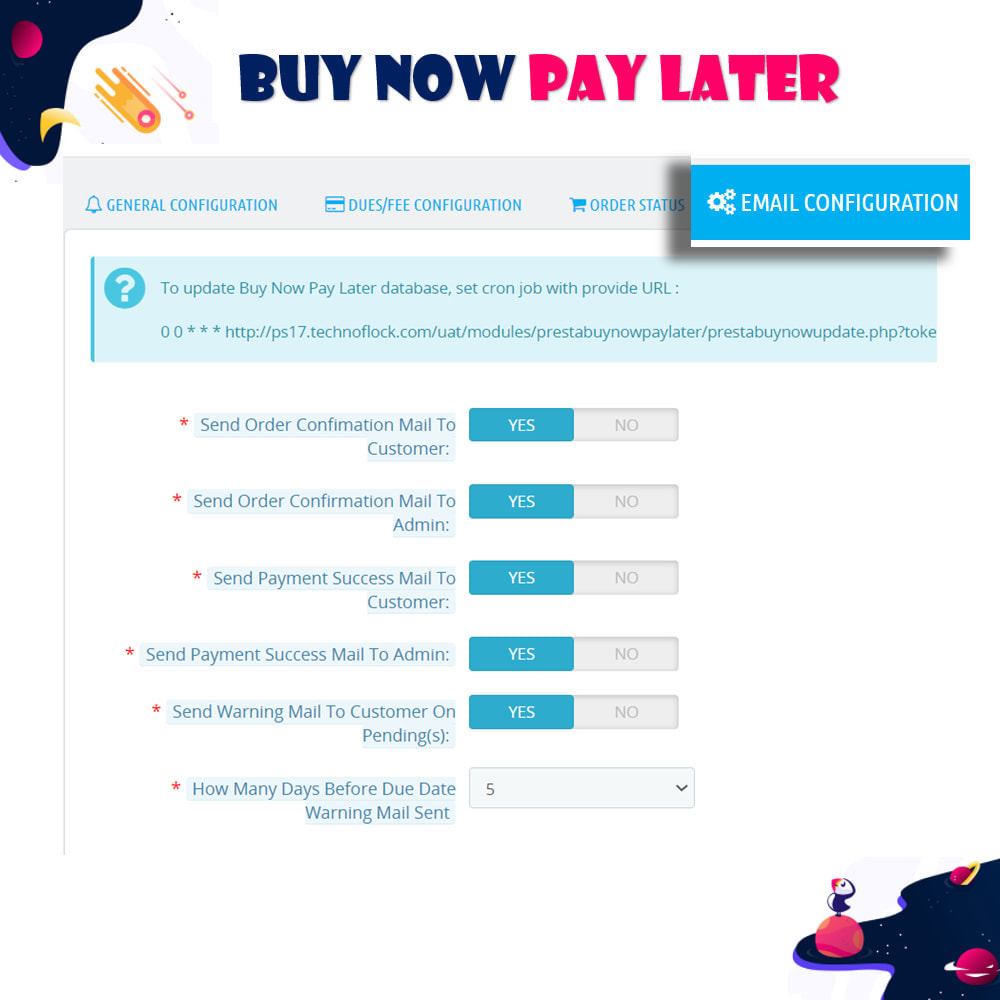 module - Andere Zahlungsmethoden - Buy Now Pay Later - Postpaid - 9