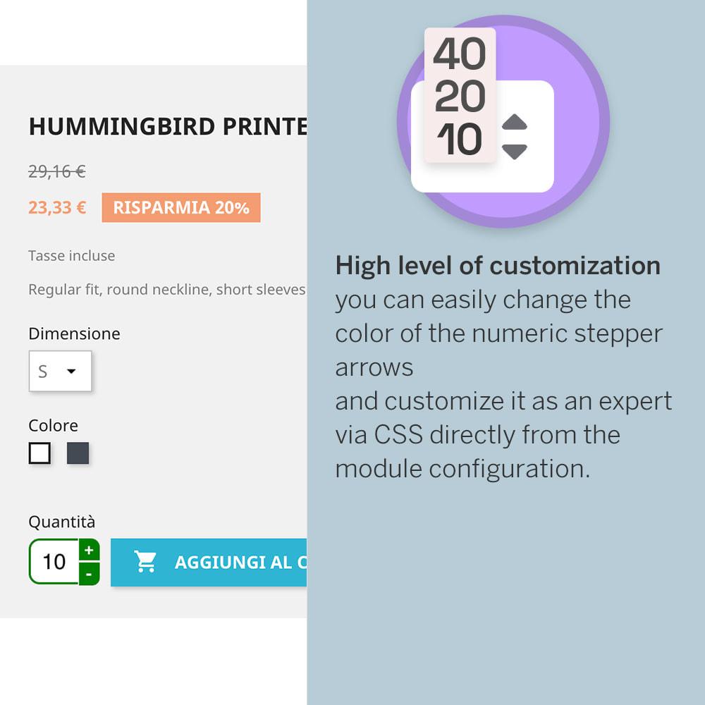 module - Combinaciones y Personalización de productos - Product Step Quantity - 3