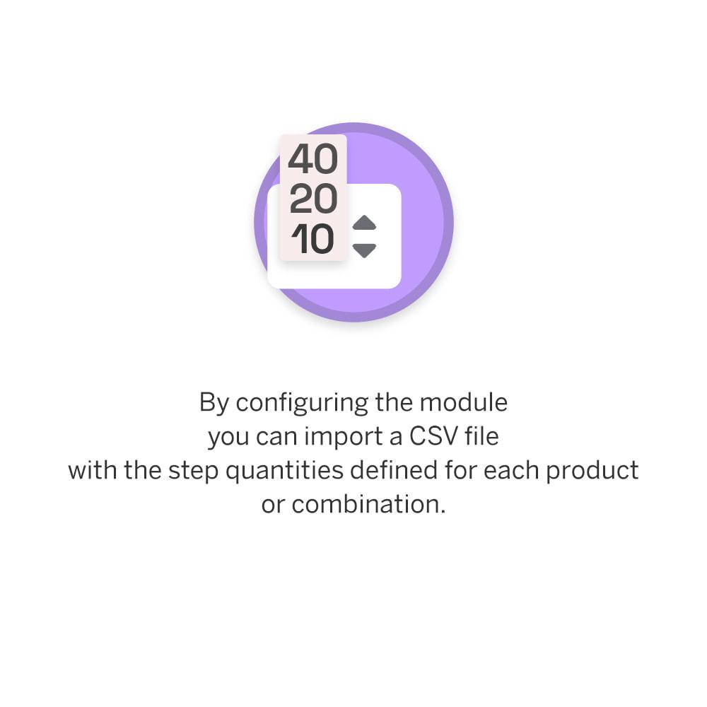 module - Combinaciones y Personalización de productos - Product Step Quantity - 4