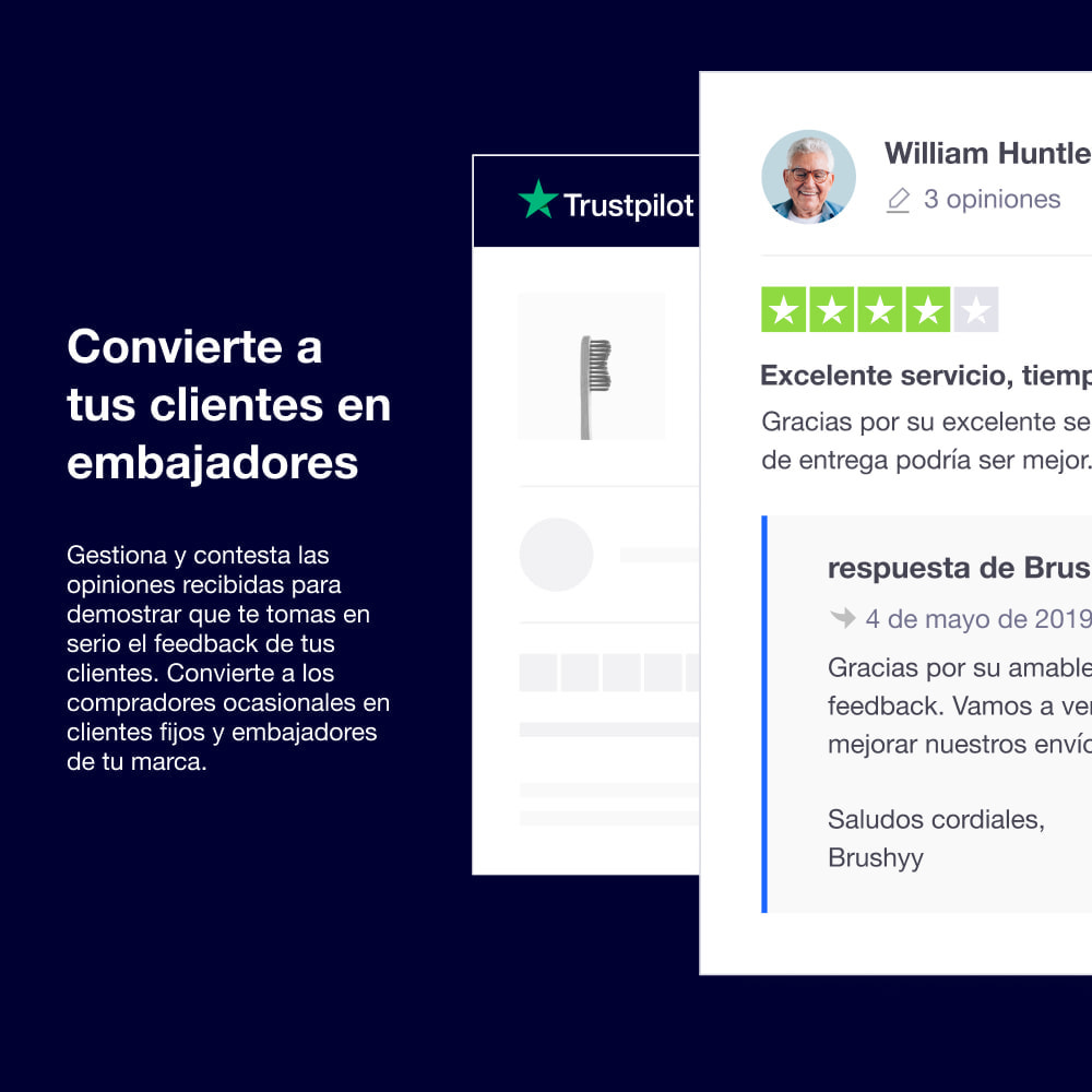 module - Comentarios de clientes - Las Opiniones de Trustpilot - 5