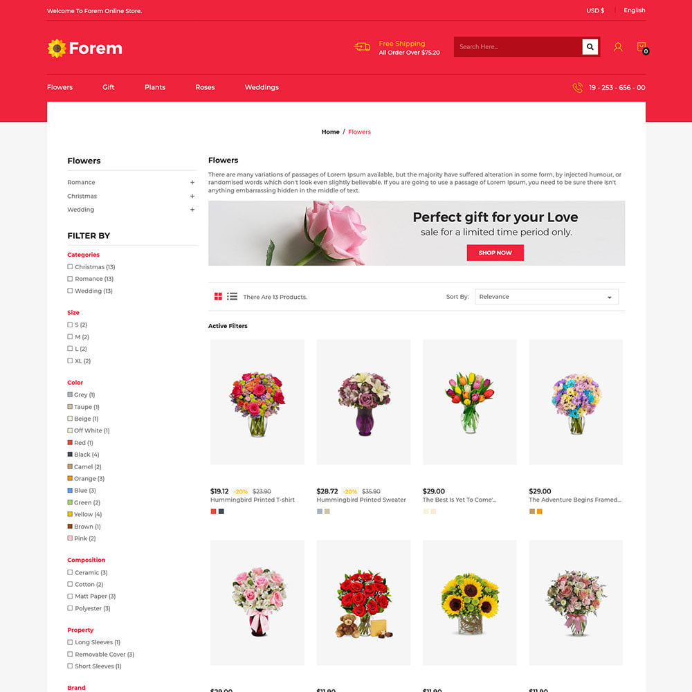 theme - Gifts, Flowers & Celebrations - Flower Shop  - Rose Gift Hamper Chocolate Store - 3