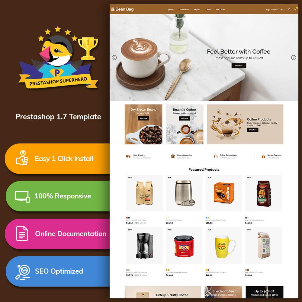 theme - Drink & Tobacco - Coffee Bean - Drink Organic Tea Store - 1