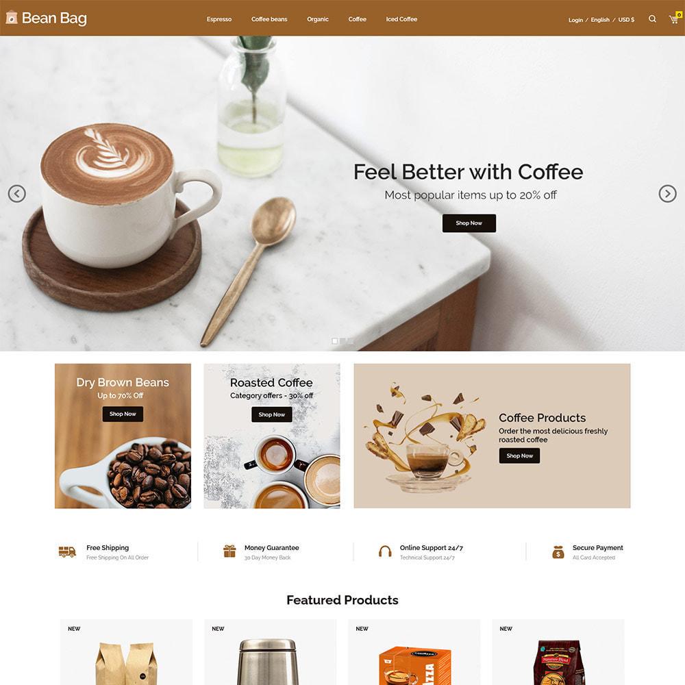 theme - Drink & Tobacco - Coffee Bean - Drink Organic Tea Store - 2