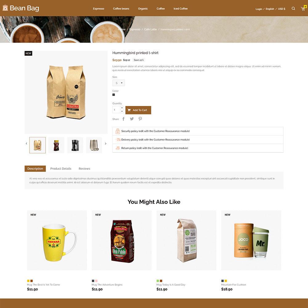 theme - Drink & Tobacco - Coffee Bean - Drink Organic Tea Store - 4