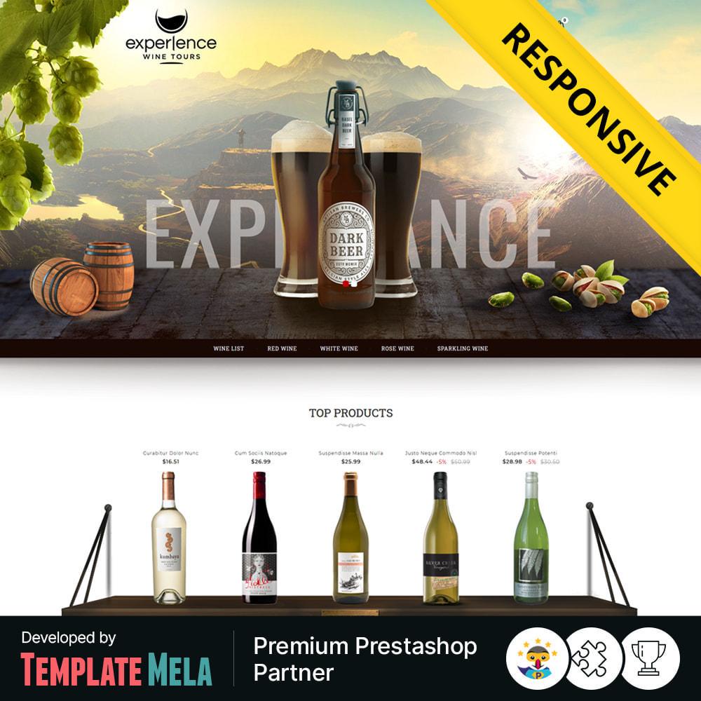 theme - Getränke & Tabak - Experlence - Wine & Drink Store - 1
