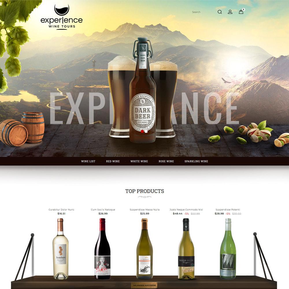 theme - Getränke & Tabak - Experlence - Wine & Drink Store - 2