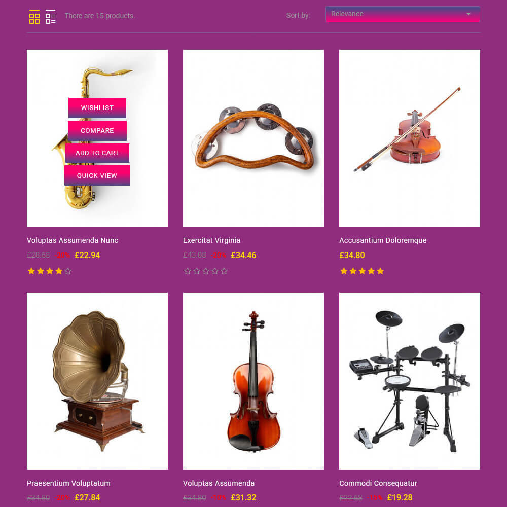 theme - Art & Culture - Smooth - Music store - 5