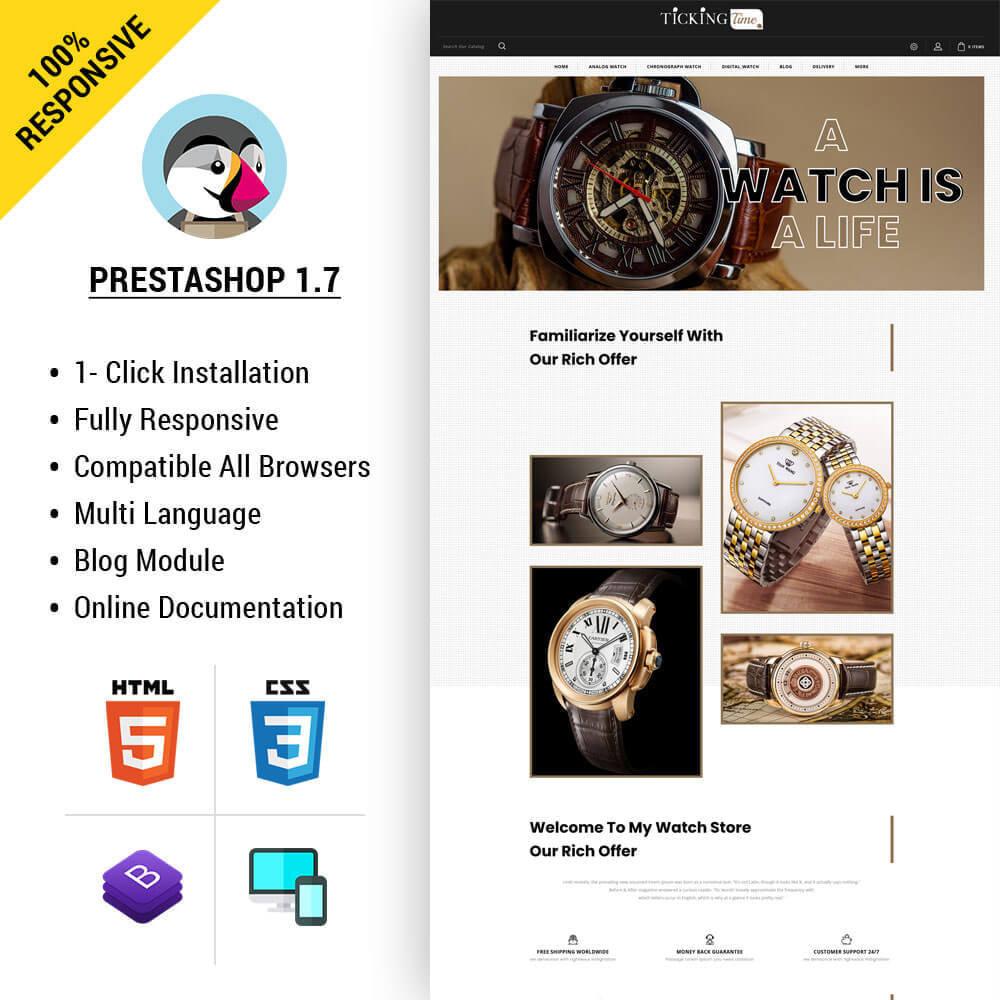 theme - Fashion & Shoes - Ticking - Watch Store - 1