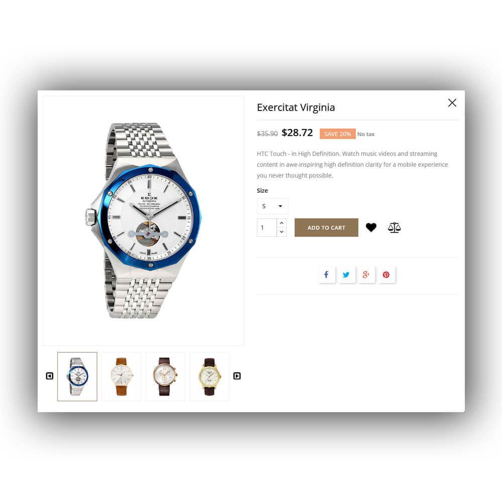theme - Fashion & Shoes - Ticking - Watch Store - 9